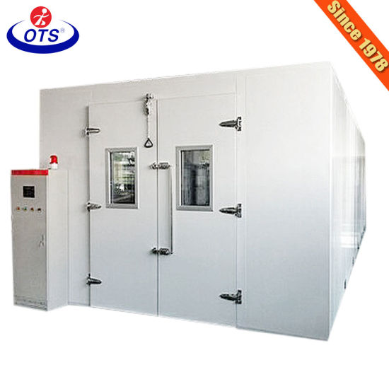 Walk in Test Machine Environmental Temperature Humidity Climatic Stability Chamber