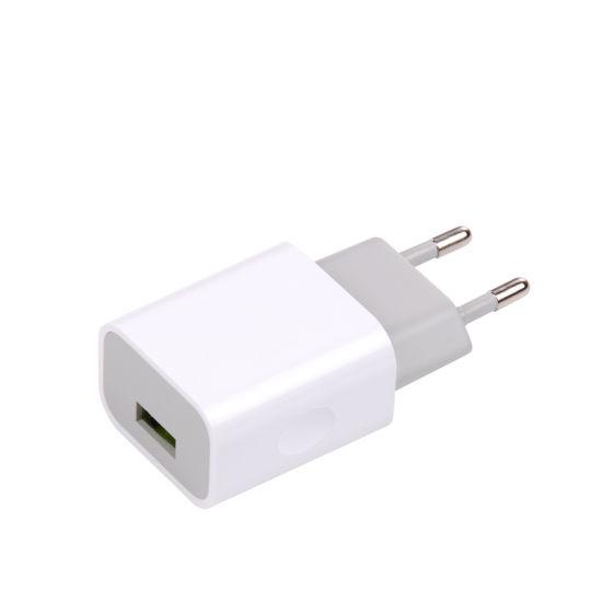 Wholesale Us/EU Plug Portable Mobile Charger Universal USB Travel Charger