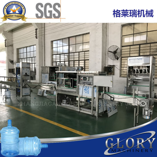 5 Gallon Jar Barrel Water Filling Production Line pictures & photos
