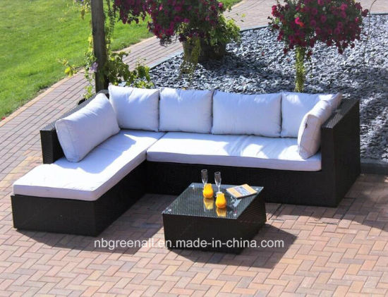 China Garden Patio Wicker / Rattan Corner Sofa Set - Outdoor ...