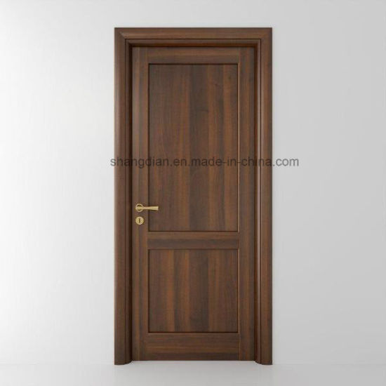 Bedroom Interior Solid Wood Main Entrance Doors Design (ST0067) pictures & photos