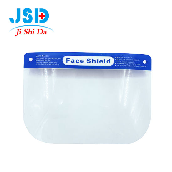 Hot Sale Safety Face Shield Mask to Anti Droplet and Fog on Both Sides
