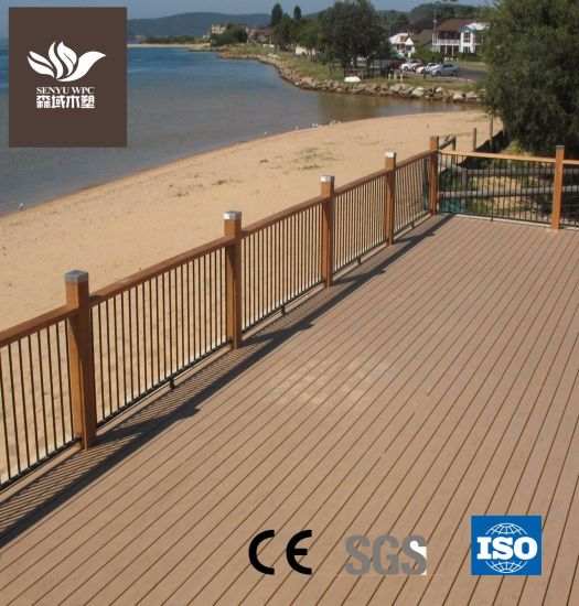 Resource-Saving WPC Hollow Flooring for Outdoor pictures & photos