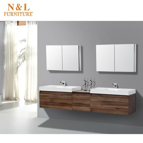 Hot Sell Classic Stylehome Furniture Solid Wood Bathroom Vanity