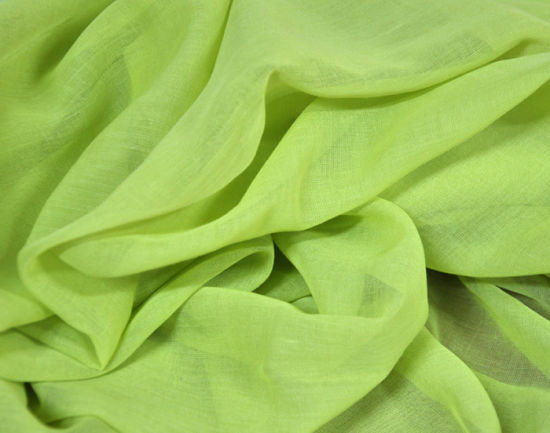 Custom Made 100% Spun Polyester Woven Voile Fabric for Scarf
