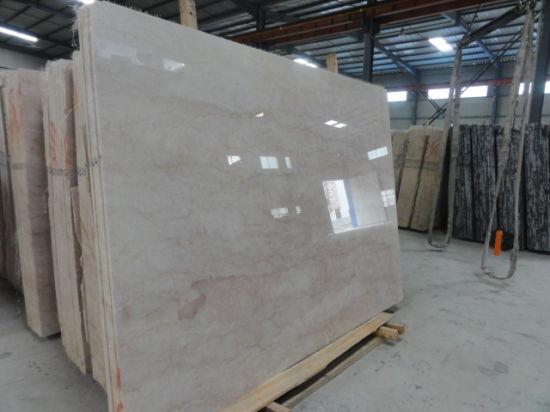 China Rosa Beige Marble Slab Tile For Kitchen Bathroom Wall Floor - Marble slab bathroom