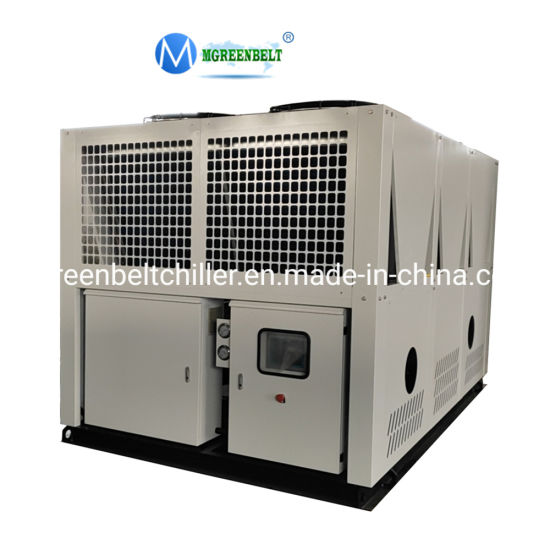 60HP Hanbell Screw Type Air Cooled Water Chiller for Cooling Water Tank