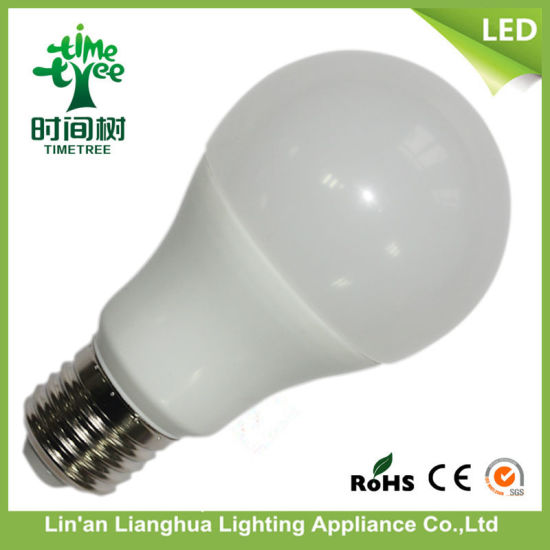 China 9W Raw Material Housing+SMD Board+ Driver+Cap SKD LED