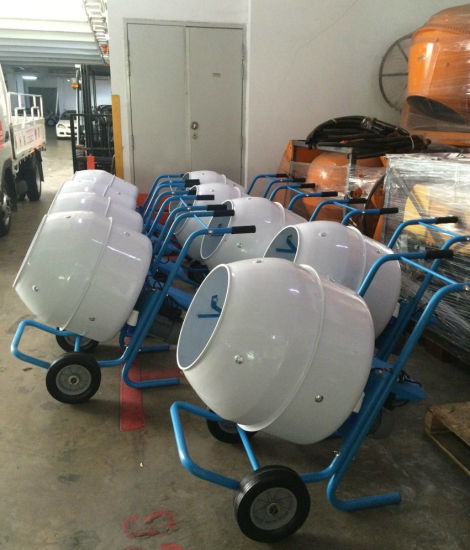 Mini Concrete Mixer Cm120 pictures & photos