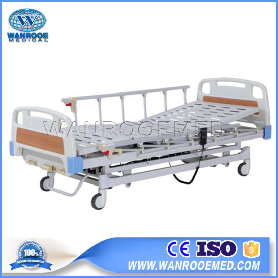 Bae301 High Quality Hospital Equipment 3-Functions Electric Medical Care Bed pictures & photos