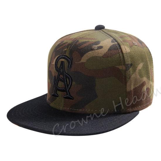 Hip Hop Snapback Flat Brim Custom Summer Hat Camouflage Cap