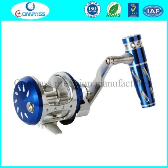 China Customized Fishing Rod/Pole/Reel Aluminium Parts with