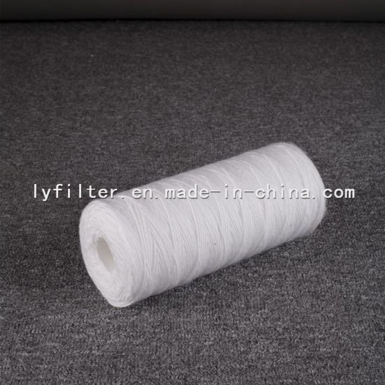 Bulk Price Wire Wound Filter Cartridge with 10 Micron for Deep Well Water Purification
