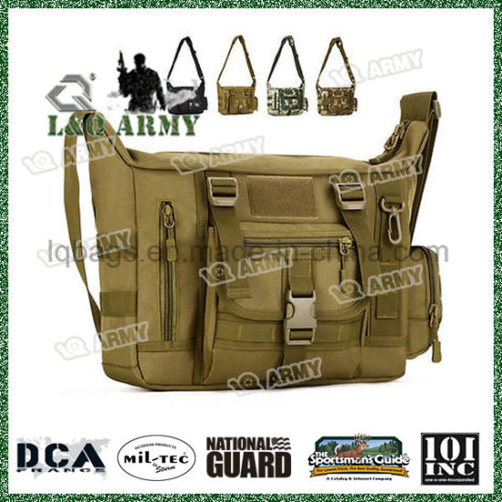f9440f4975 Military Messenger Shoulder Bag Tactical Camping Briefcase Laptop Pack