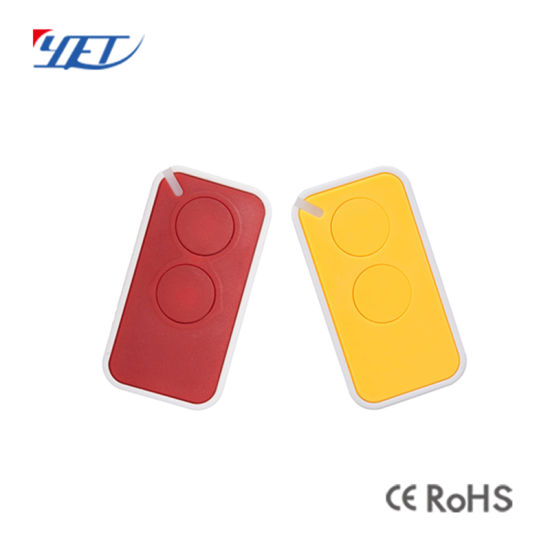 China Color Universal Garage Door Cloning Remote Control Key Fob