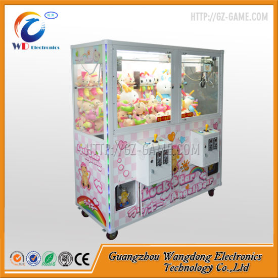 Wangdong Claw Crane Machine Toy for USA Market pictures & photos