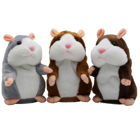 New Talking Hamster Mouse Pet Plush Toy pictures & photos