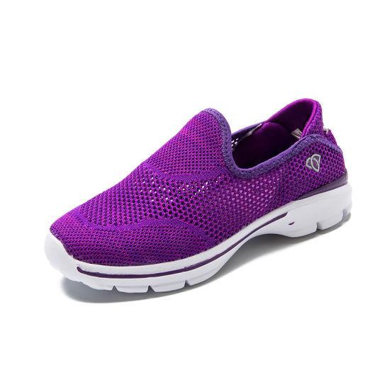Mesh Flat Base Ladies Fitness Shoes