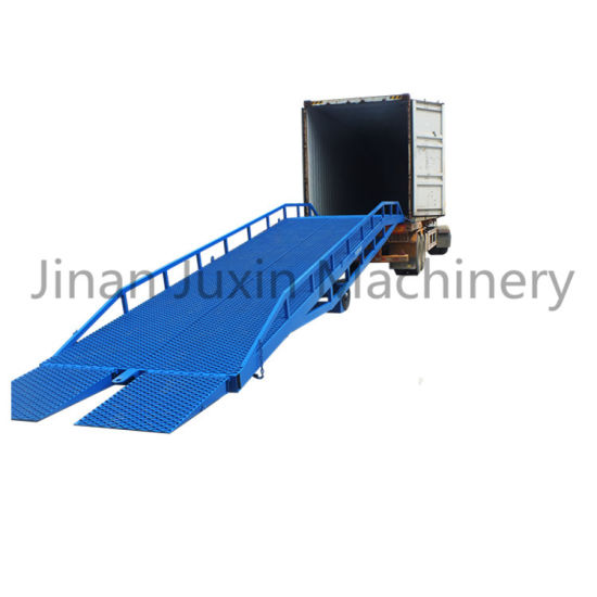 China Manufacturer Mobile Container Forklift Yard Ramp