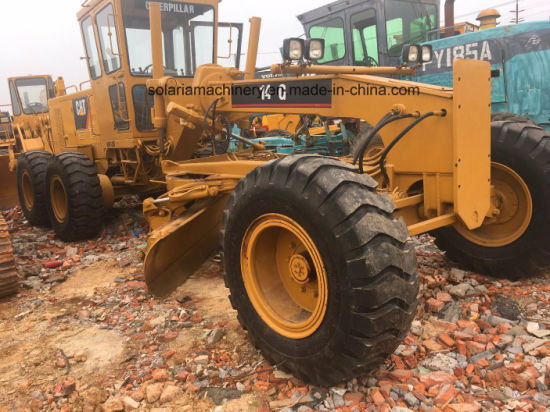 Used Cat Motor Grader 14G Caterpillar 14G Grader for Construction