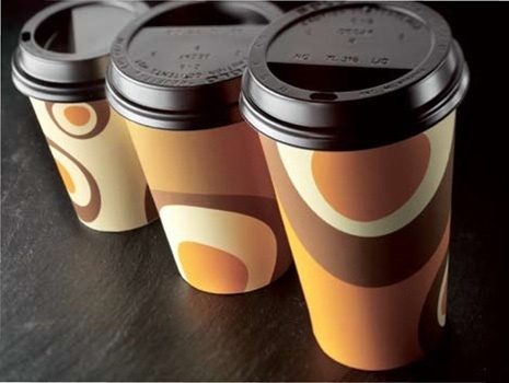 OEM High Quality Juice Glass / Factory Printed Promotional Paper Cup