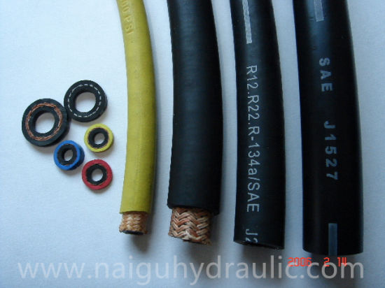 Rubber Hoses Reinforced Pressure Water Washer Hose Pipe pictures & photos