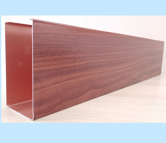 China Wholesale Powder Coating Aluminum Baffle False Ceiling for Powder Coating Decorative Ceiling pictures & photos