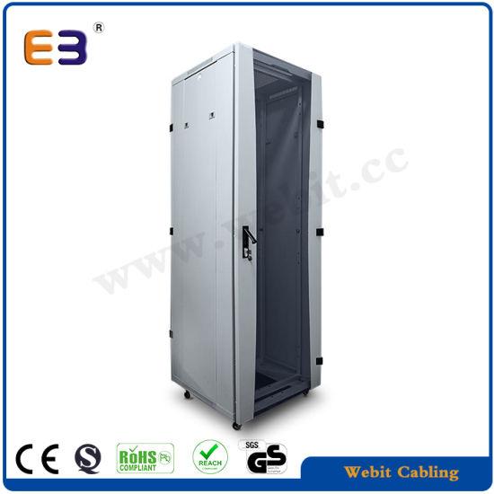 19'' Metal Cabinet with Front Smoky Grey Glass Door