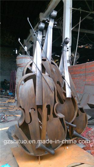 Cello, Suitable for Indoor and Outdoor Bronze Sculpture