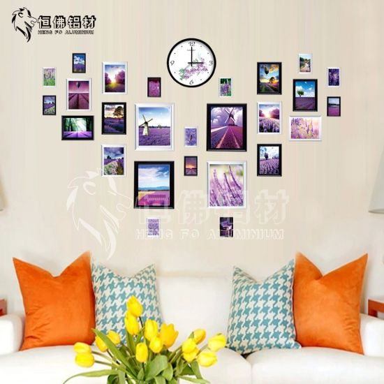 China 13 Picture Frames Decoration Aluminium Photo Album Home ...
