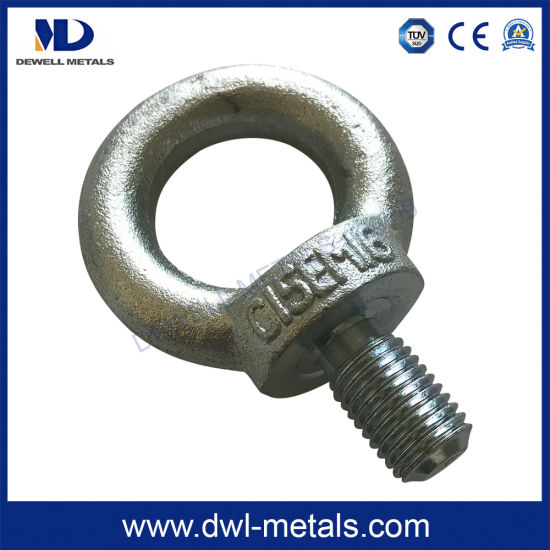 Electric Galvanized DIN580 Lifting Eye Bolt pictures & photos