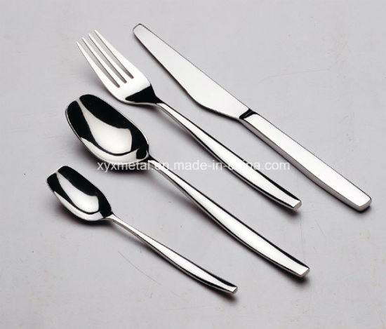 Stainless Steel Spoon Fork Knives Flatware Tableware Cutlery Set