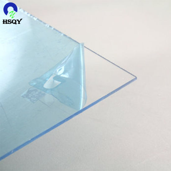 High Quality Super Clear PVC Sheet with Waterproof PE Film