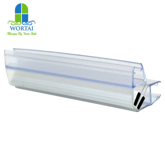 China Glass Shower Door Plastic Rubber Seal Strip China Glass Seal