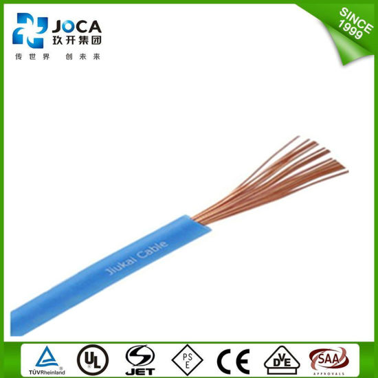 Easy Stripping and Cutting PVC Insulated Copper UL1015 Wire pictures & photos