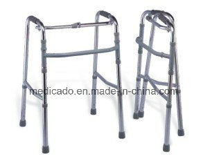 High Quality Folding Adjustable Aluminum Walker pictures & photos