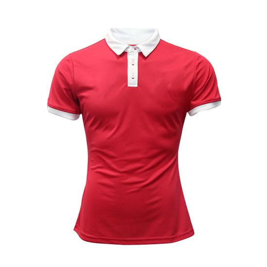 Quick Dry Custom Women Polo Shirt Cheap Plain Wholesale Golf Polo Shirt