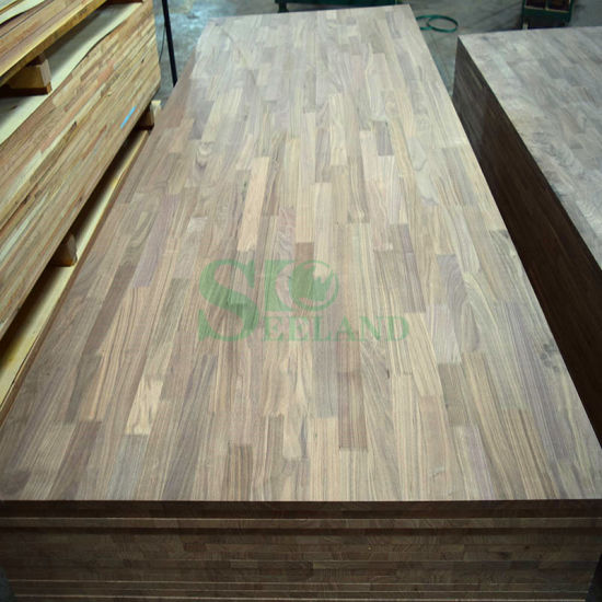 American Walnut Finger Jointed Laminated Board