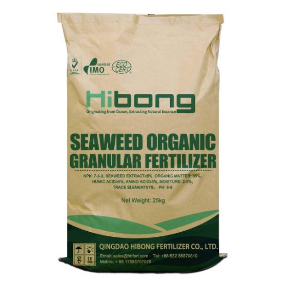 Seaweed Organic Granular Fertilizer, Organic Fertilizer Buyers