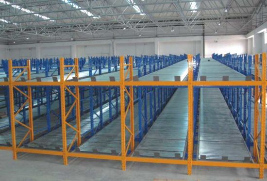 High Load Capacity Storage Gravity Racking & China High Load Capacity Storage Gravity Racking - China Racking ...