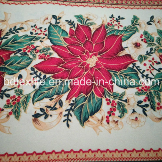 Christmas Printed Mini Matt, Printed Table Cloth 100%Polyester Mini Matt Printed Fabric pictures & photos
