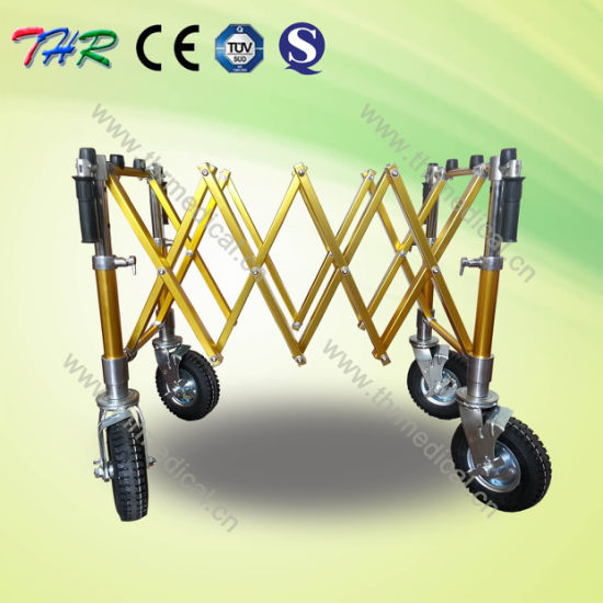 Funeral Coffin Trolly with Different Wheels pictures & photos