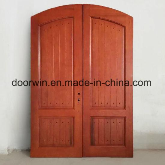 China Simple Design Main Door Designs Front Entry Door Double