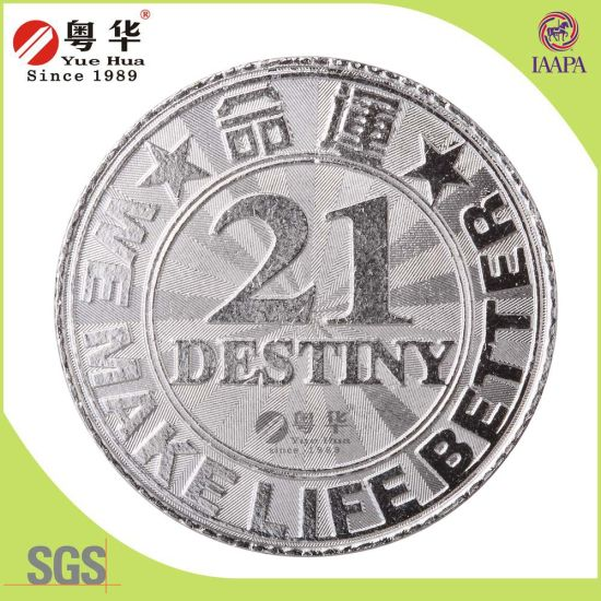 3D Coin with Transparent Color, Metal Coin, Military Coin