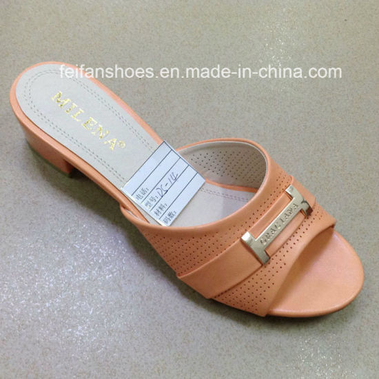 51288f8cf New Style Good Quality Fashion Ladies Shoes PU Sandals (JH160523-6)  pictures