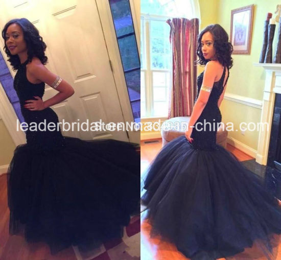 Black Prom Dresses with Tulle
