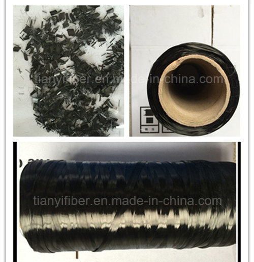 Carbon Fiber Synthetic Monofilament Fiber Manufacture Factory pictures & photos