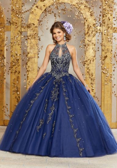 New Fashion Beaded Ballgown Bridal Evening Prom Quinceanera Dresses 89236