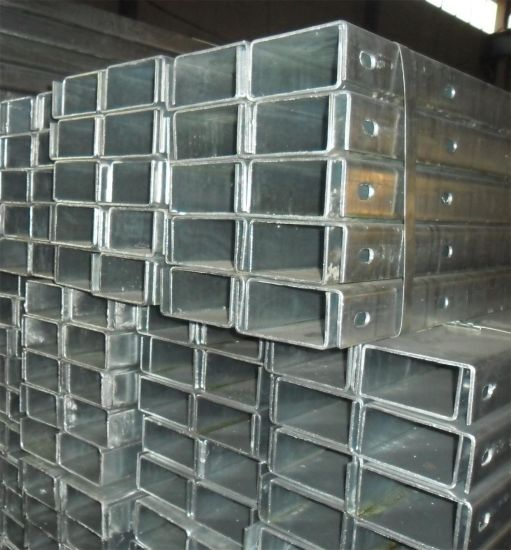 ERW Hot Galvanized Epoxy Paint Square Rectangular Steel Pipe pictures & photos