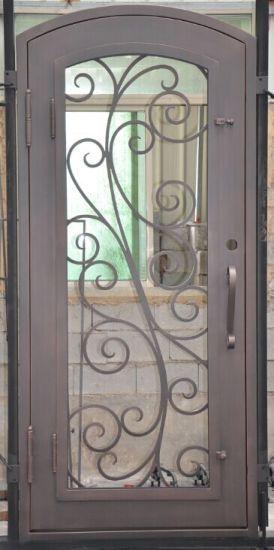 American Standard Wrought Iron Door Gates